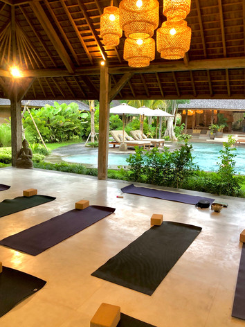 Retraite yoga bali Bom