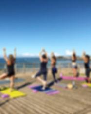 Yoga plage bom yoga st gilles croix de v