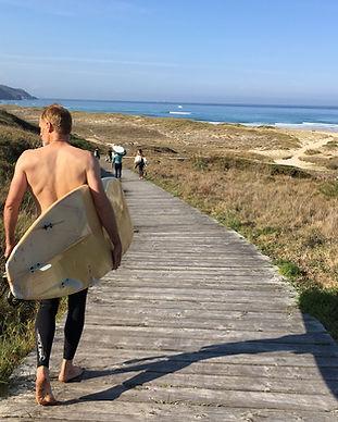 Surf bom yoga galice