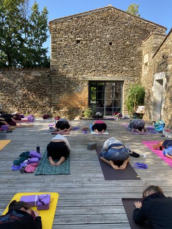Stage bom yoga Bacqueville vendée