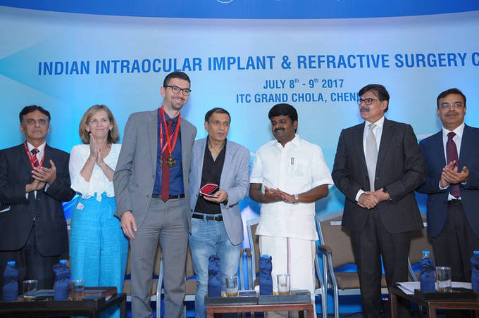 July 2017 - Chennai - Gold Medal - IIIRSC