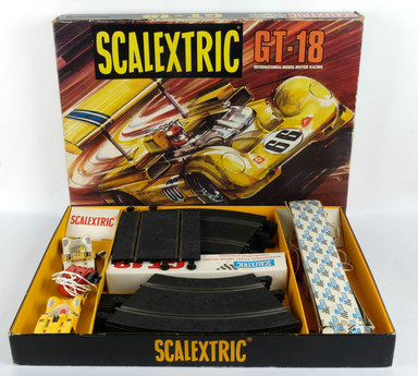 Scalextric GT-18 International model motor racing años 70