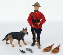 Madelman Policia montada del Canadá años 70