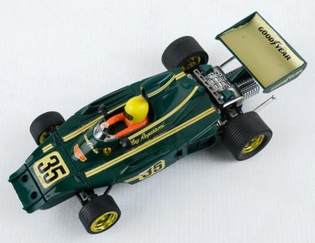 Coche Scalextric Exin Ferrari B3 F-1 verde Ref-4052 años 70
