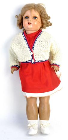 Muñeca española años 40