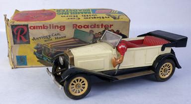 Coche japonés Rambling Roadster S-1323-africción-Ali 1925