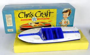 Chris-Craft Canoa eléctrica Exin Exclusivas industriales SA Barcelona años 60-70