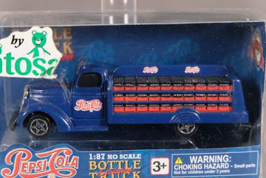 Camión Pepsi Cola 1:87 Bottle Evolutiin Truck