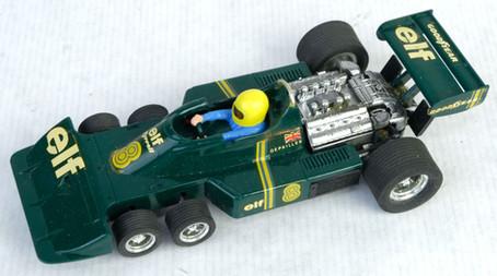 Coche Scalextric Exin Tyrrel verde P-34 Ref. 4054 años 70