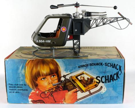 Helicóptero Madelman años 70-80
