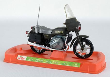 Moto Van Veen Militar Ref.101 años 70