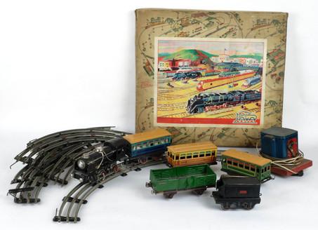 Tren eléctrico marca Paya años 50