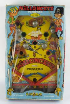 Milloncete pirata Airgam años 70