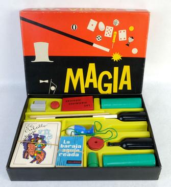 Juego Magia Borras años 60