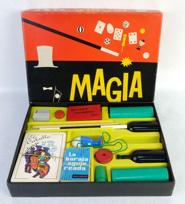 Juego de magia Borras años 60