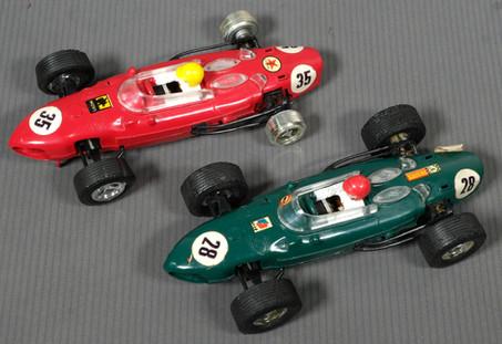 Coches Scalextric Triaang Ferrari 1958-1962