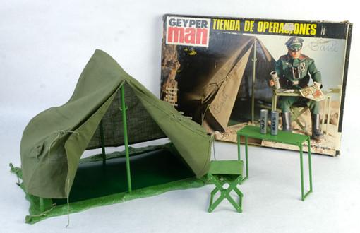 Tienda de campaña de Geyper Man