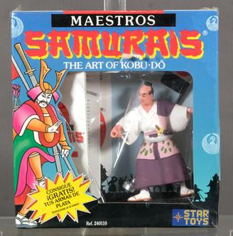 Figura Maestros Samurais Star Toys 1990