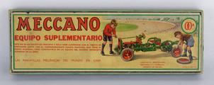Original juego Meccano años 70 en su caja original