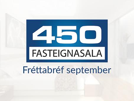 Fréttir af fasteignamarkaði - September