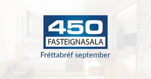 450 Fasteignasala - Fréttabréf