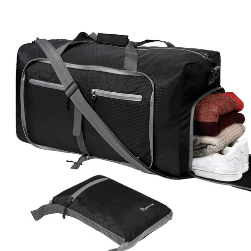 Waterproof Duffle Bags >> Dimayar For Men Women Waterproof Duffle Black Bag 60l Travel Duffle Bag