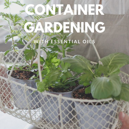 Container Gardening with Essential Oils