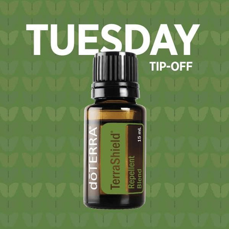 THIS WEEK'S TUESDAY TIP OFF IS … TERRASHIELD!!