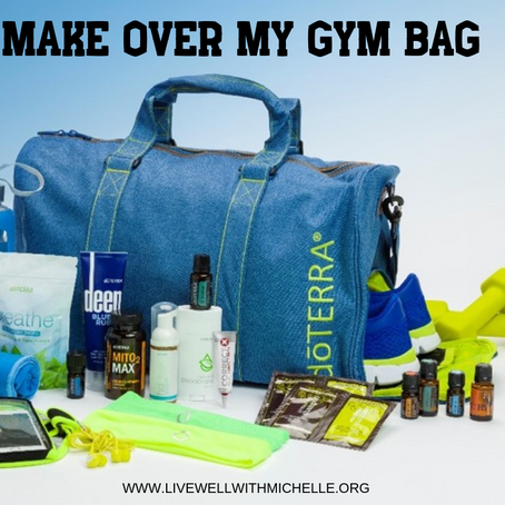 MAKE OVER MY GYM BAG ... NATURALLY!