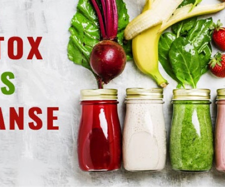 Reset, Refresh, Renew - Do you need a detox or cleanse and are they safe?