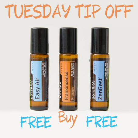 THIS WEEK'S TUESDAY TIP OFF IS - BOGO!!!