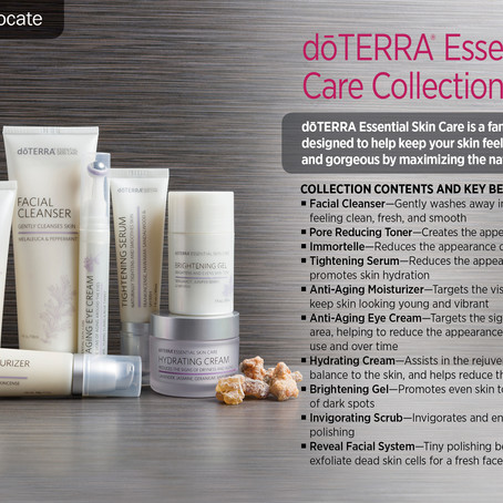 THIS WEEK'S TUESDAY TIP OFF IS ... THE ESSENTIAL SKIN CARE LINE!!!