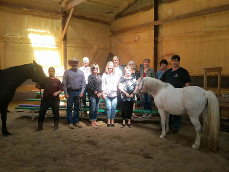 Lennox Ladies Visit the Wolfe Ranch of Quakerdale