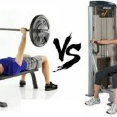 Machines Or Free Weights: Structure Vs. Function!