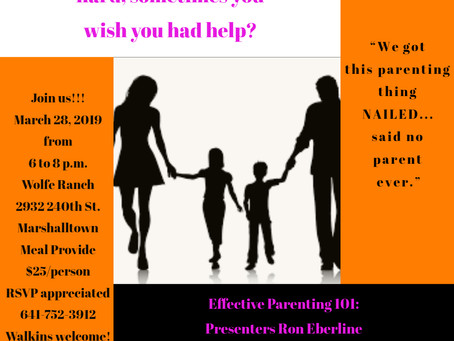 Sign up for Effective Parenting 101