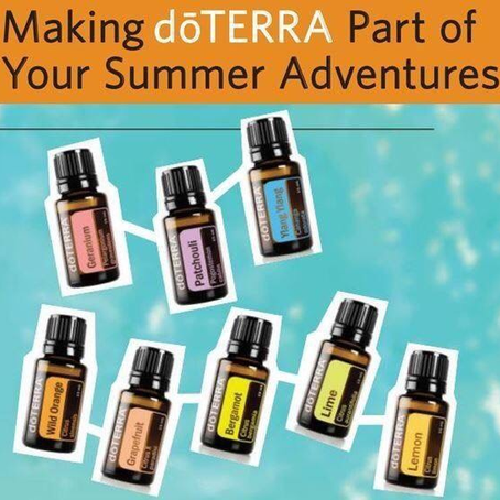 Lunch & Learn in July - Making dōTERRA Part of Your Summer Adventures
