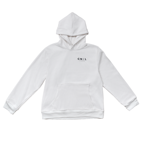 Hoodie JUST IN CASE - Crema