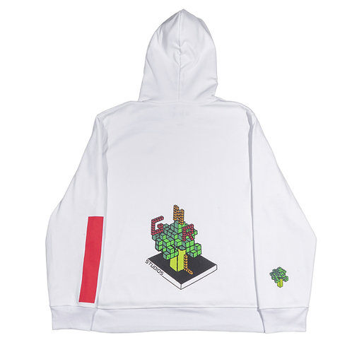 Geometric broccoli Hoodie