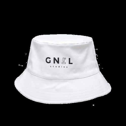 Bucket Hat JUST IN CASE- Blanco