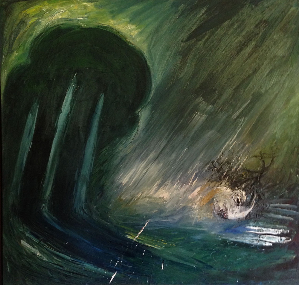 Arthur Boyd Nedbuchadnezzar in a clearing, Ray Monde