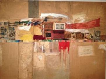 Rauschenburg and Jasper Johns at MoMA