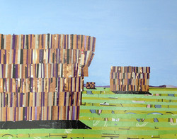 Haystacks Braidwood Rd by Ray Monde