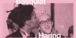 Basquiat Haring exhibition at NGV