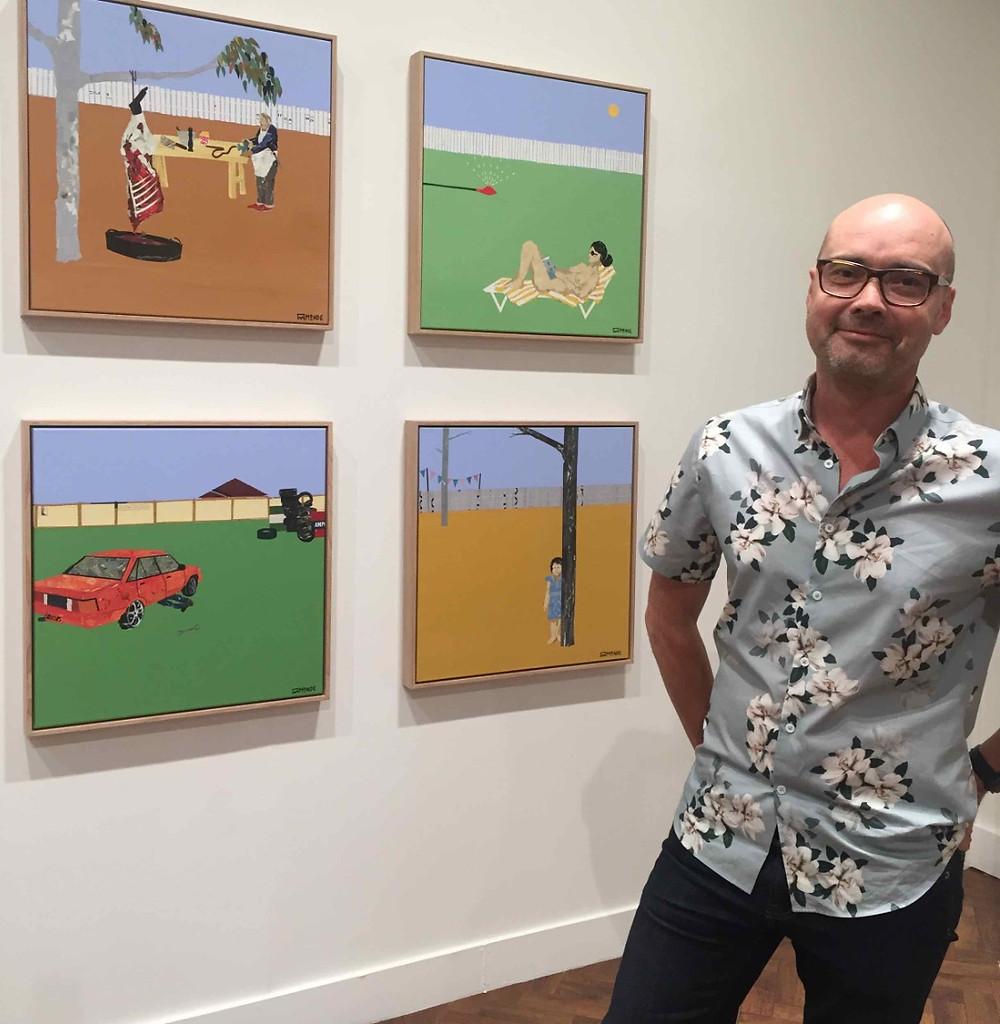 Ray Monde Coarse Stories Goulburn Regional Art Gallery