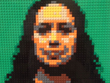 These portraits made of #Lego are strangely compelling