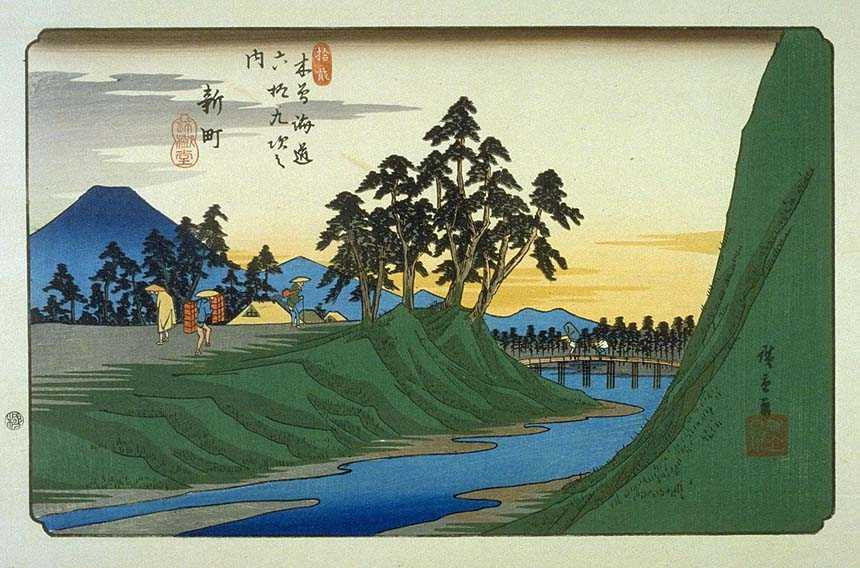 Hiroshige artwork