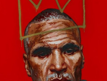 Is that a little bit of Basquiat in the Archibald's this year?