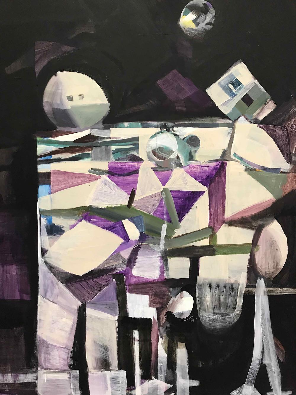 Joe Frost, Family Unit, Coarse Stories, Goulburn Regional Art Gallery