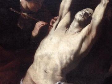Why is Saint Sebastian the sexiest of all saints?