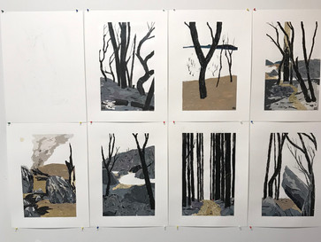 After The Fires opens at Purple Noon Gallery on 5 December 2020